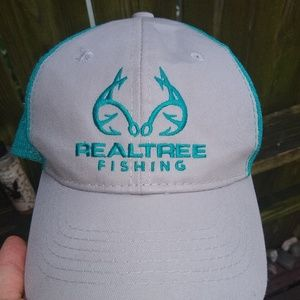 Real tree fishing hat